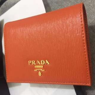 Prada small wallet 短銀包