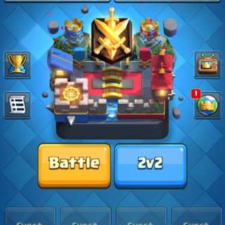 Clash Royale level 12 account(High level)