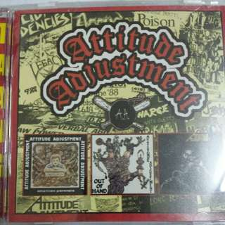 Music CD: Attitude Adjustment ‎– The Collection - Punk, Hardcore