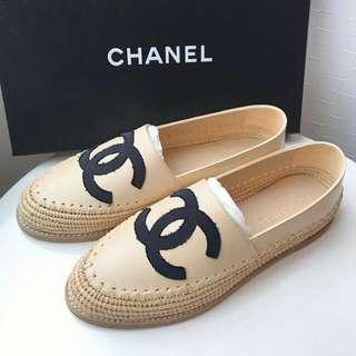 Chanel 新款漁夫草鞋 38 size