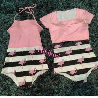 Flamingo Bikini Set