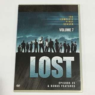 1DVD•30% OFF GREAT CNY SALE {DVD, VCD & CD} LOST VOLUME 7 : THE COMPLETE FIRST SEASON - DVD Episode 25 & BINUS FEATURES