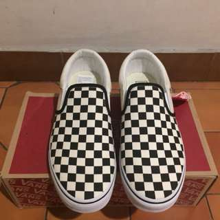 Vans Outdoor Asher Canvas Check Shoes