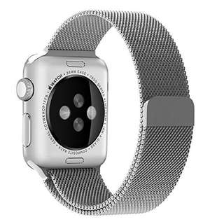 Apple iWatch 38mm Magnetic Milanese Silver