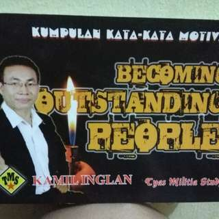 Becoming outstanding people