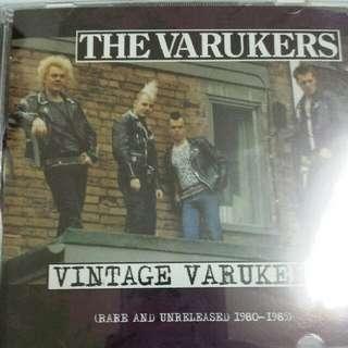 Music CD: The Varukers–Vintage Varukers (Rare And Unreleased 1980-1985)