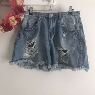 Factorie denim shorts