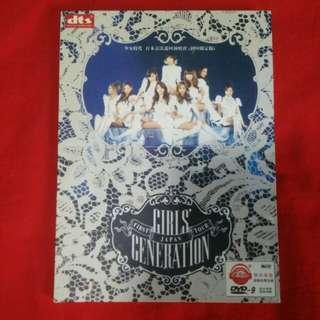 Girls Generation 1st Japan Tour Concert DVD
