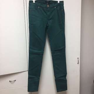 Forever 21 Emerald Green Pants