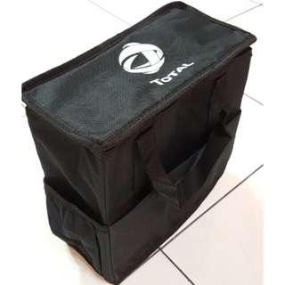 🚚 TOTAL保冷袋 保溫袋 汽車椅背專用 置物袋 收納袋 野餐 露營 手提袋 哩哩扣扣