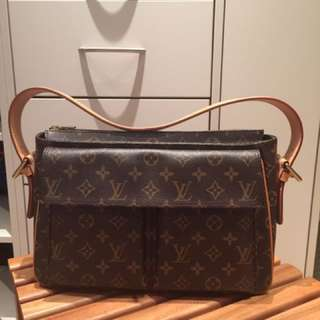 🚚 二手 正品 Louis Vuitton 側肩包