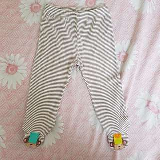 Baby leggings with foot socks imported from US 6-12M