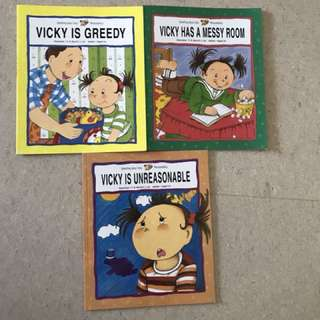 Vicky books (3 books for $5!)