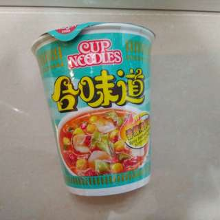 $4.5@1 $8@2 Cup Noodles Spicy Seafood Flavour 75g