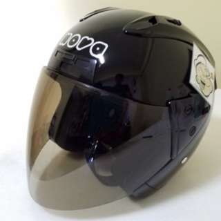2801*** Nova Helmet Black with Tinted Visor For Sale 😁😁Thanks To All My Buyer Support 🐇🐇 Yamaha, Honda, Suzuki