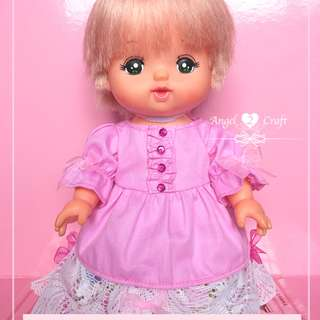 Mell Chan | Pink Floral Princess Dress #180215 (Doll not included)