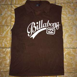 Billabong Sleeveless Polo Shirt (S)