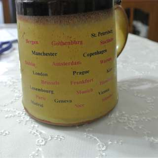 VINTAGE S.A.S.MUG / POSSIBLY MORE THAN 30 YEARS OLD). FREE DELIVERY.