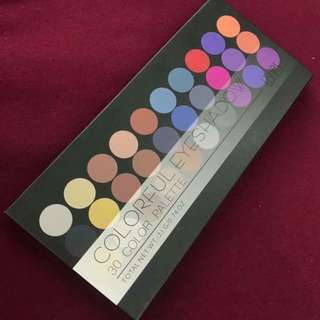 Ushas Colorful Eyeshadow Palette