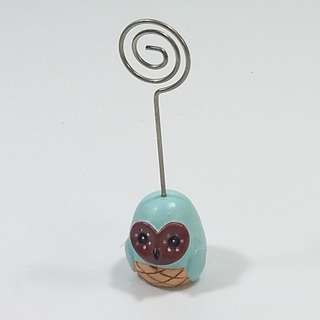 貓頭鷹相片咭片夾Owl Business Card / Photo holder