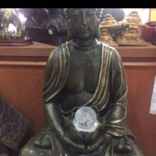 {FS138} 18 INCHES TALL BUDDHA WATER FOUNTAIN 2