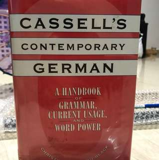 Cassell's Contemporary German