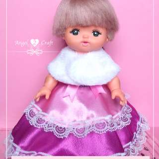 Mell Chan | Purple/Pink Layers Cake Princess #180217 (Doll is not included)