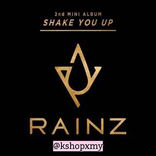 Rainz 2nd Mini Album - ' Shake It Up '