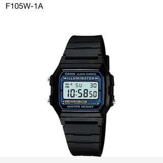 Brand New Auth Casio Men's Illuminator Digital Watch