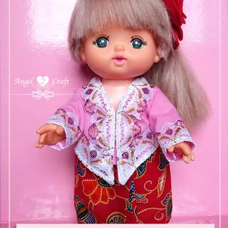 Mell Chan | Peranakan Kebaya Set#180910 (Doll and other accessories that not stated are not included)