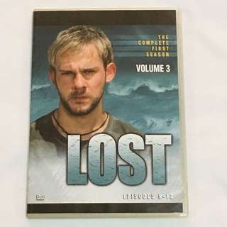 1DVD•30% OFF GREAT CNY SALE {DVD, VCD & CD} LOST VOLUME 3 : THE COMPLETE FIRST SEASON - DVD Episode 9-12