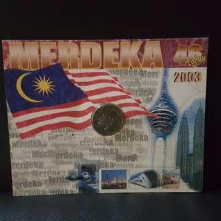 Merdeka 2003 Gold Coin