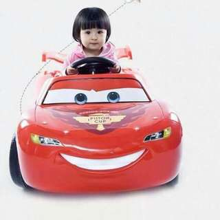 Lightning Mcqueen electric ride on car for kids