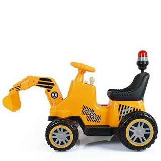 BACKHOE kiddie ride on