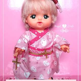 Mell Chan | Japanese Long Kimono Set #180111 (Doll and other accessories that not stated are not included)