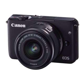 Canon EOS M10 (with 15-45mm lens)