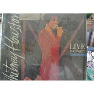 MY LASER DISC - LD WHITNEY HOUSTON/ FREE DELIVERY
