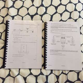 IGCSE Chemistry Past Year Papers