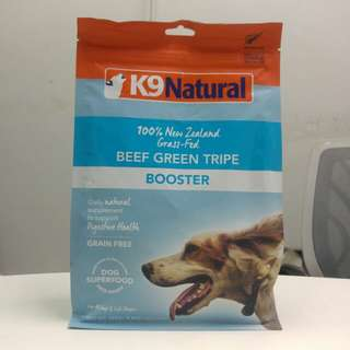 K9 Natural Freeze Dried Beef Green Tripe Booster (250g)