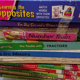 Preschooler books and games