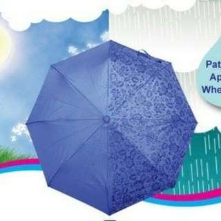 Payung 3D Muncul Motif Bila Terkena Air