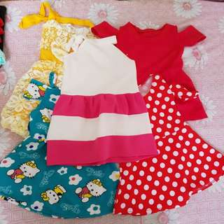 Baby girl dresses bundle cute ootd fashion baby