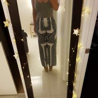Long pants sabo skirt size 10 / m