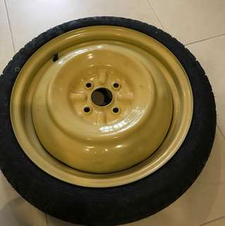 Original Toyota Axio spare tire