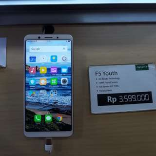 Kredit Tanpa Kartu Kredit Oppo F5 Youth Ram 3GB