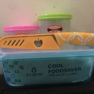 Claris Foodsaver & Pisau ( New)
