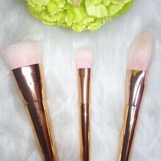 Rosegold Make Up Brushes