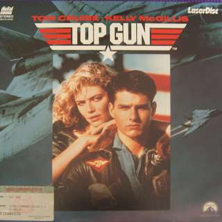Laser Disc Movie - M08    Top Guns