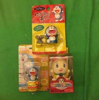 三件一齊賣多啦的夢玩具