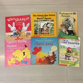 PL Bundle Scholastic & Usborne Toddler/Children Books